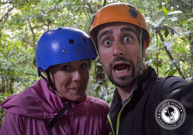 Ziplining in Monteverde Costa Rica