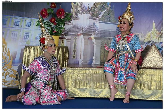 JMF233417 - Teatro tradicional tailandés - Bangkok - Tailandia
