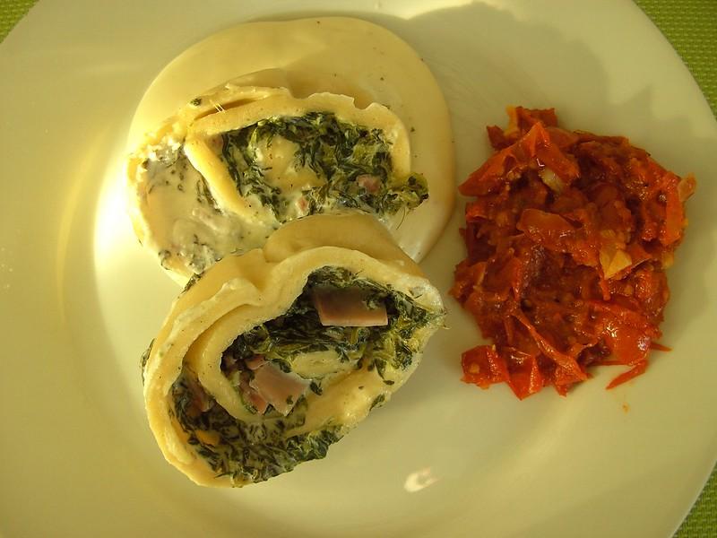 Pasta Roulade 4