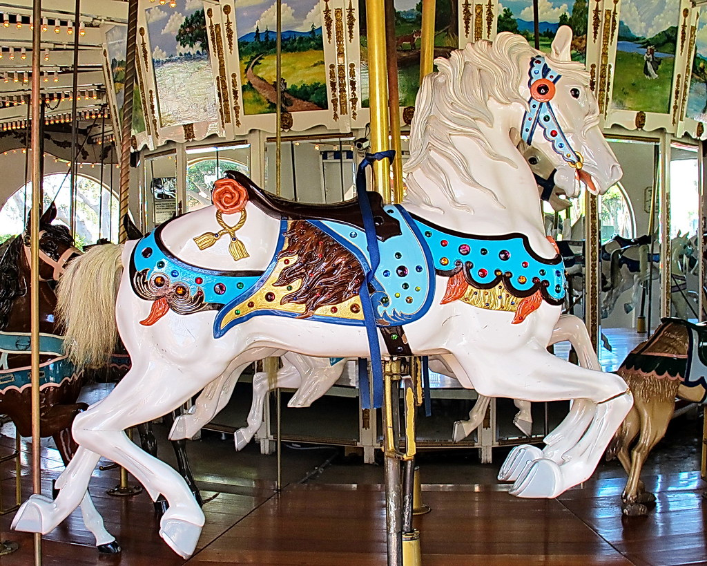 Seaport Village Carousel Horse  - San Diego