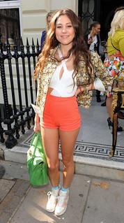 Eliza Doolittle Floral Bomber Jacket Celebrity Style Women's Fashion