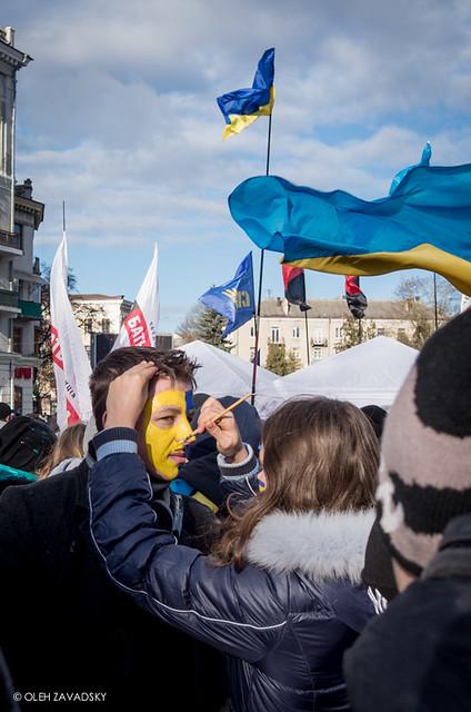 Ukraine: People vs. President