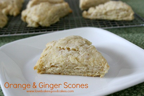 Orange & Ginger Scones 2