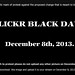 Flickr Black Day by chicagogeek