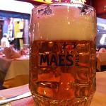 ベルギービール大好き!!マース・ピルスMaes Pils