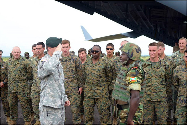 U.S., Burundian militaries choose to go far together