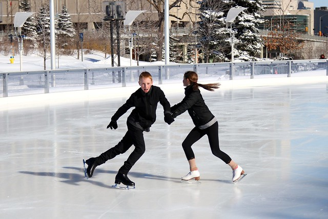 Ice Dancing in Ottawa