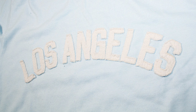 Sportiqe Los Angeles Metro Hand Stitched Lettering