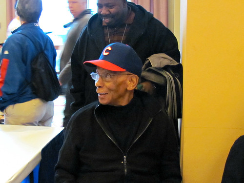 "It's Himself, Mr Cub, Ernie ""let's play two"" Banks"