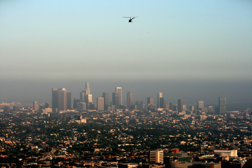Los Angeles from Griffith Park Observatory.