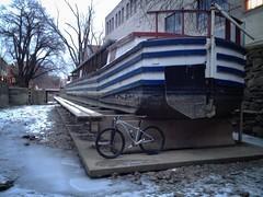 Biking on the Frozen C&O Canal