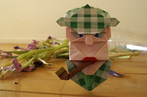 Origami 'Sherlock Holmes' (Carlos González Santamaría AKA Halle)