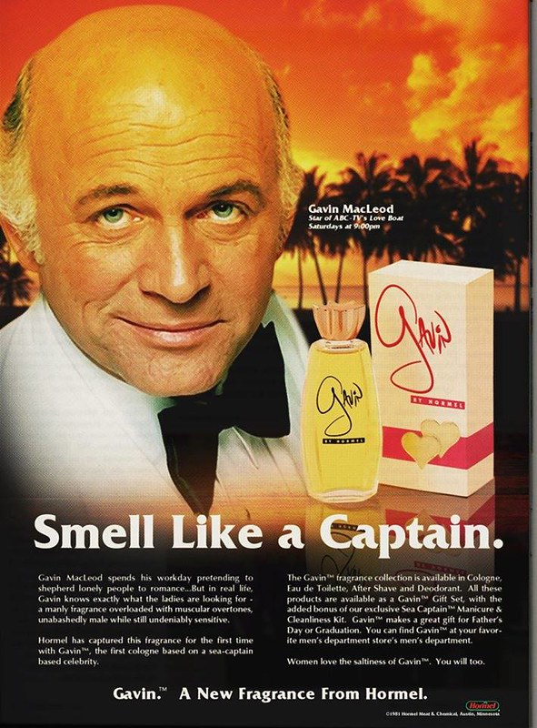 smell like a captain