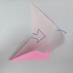 สอนการพับกระดาษเป็นลูกสุนัขชเนาเซอร์ (Origami Schnauzer Puppy) 021