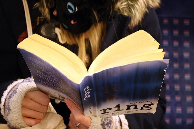 reading on the overground, London
