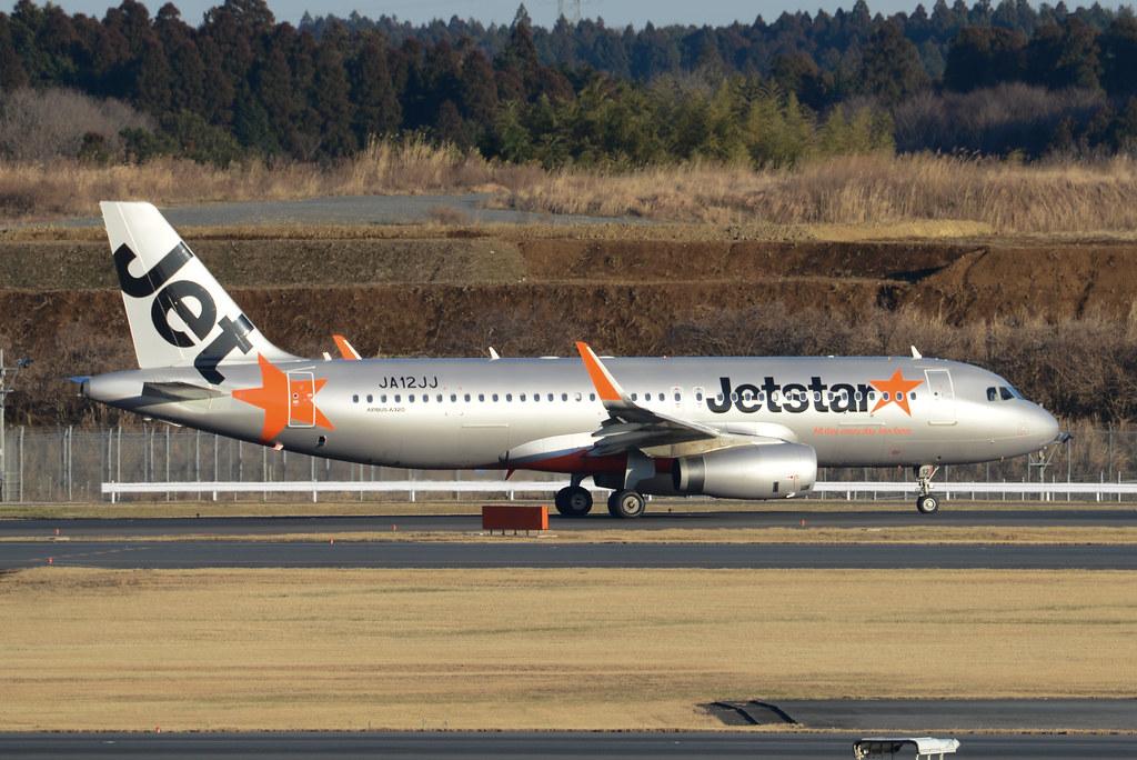JetStar Japan A320-200 JA12JJ