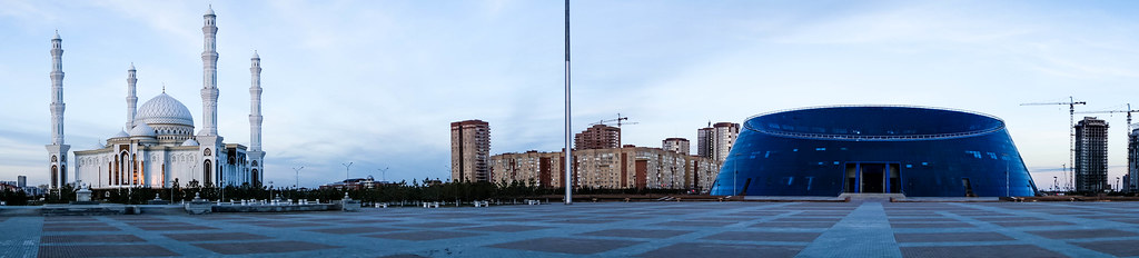 Panorama view Astana
