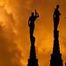 Le Gulie del Duomo di Milano - Silhouette by ph.galimba65@yahoo.it