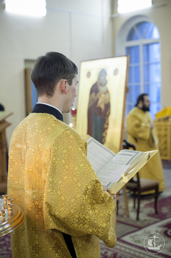 16 февраля 2014, Божественная литургия в Неделю о блудном сыне / 16 February 2014, Divine Liturgy on the Sunday of the Prodigal Son