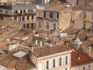 Tejados de Burdeos (Aquitania, Francia)