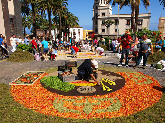 Corpus Christis, La Orotava, Tenerife