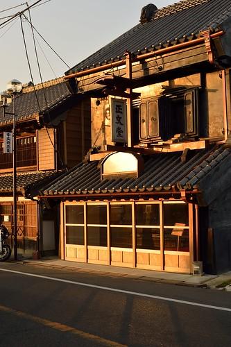 佐原の風景 夕陽を受けて by leicadaisuki