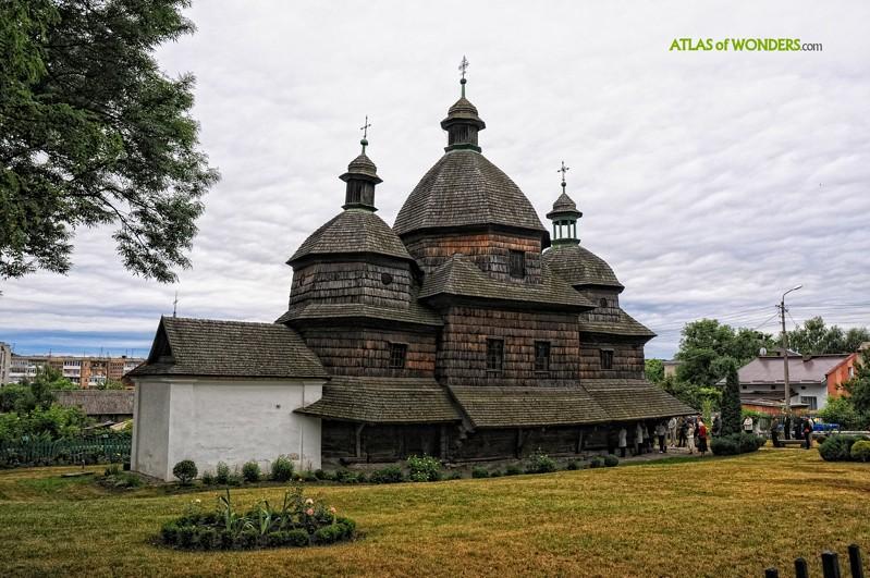 Wooden Tserkvas Ukraine