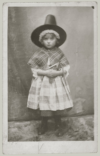 Child in Costume
