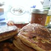 More of those hand crafted pancakes from Cakewalk Coulterville. ♥