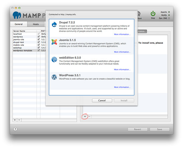 MAMP PRO 5 5 – Create a local server environment for Web