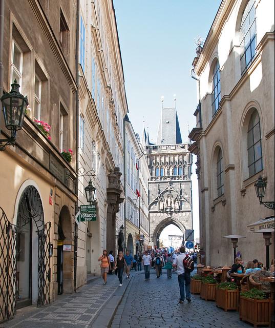 Prague, Charles Bridge Tower, Czech Republic