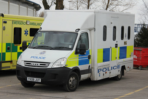 Humberside Police Iveco Daily Prisoner Transport Vehicle