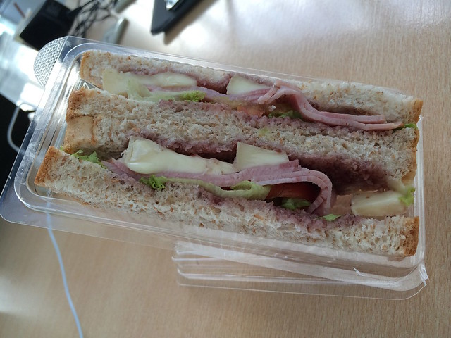Farmers ham sandwich - Cafe France