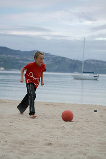 Image of Oriental Beach near Wellington. newzealand sports soccer naturallight wellington orientalparade wellingtonnewzealand beachfootball landscapephotography capitalofcool