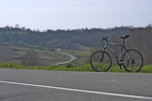 bicycle landscape cycling croatia ontheroad smcpm50mmf17 pentaxk5 vedranvrhovac vukomeričkegorice gornjihruševac