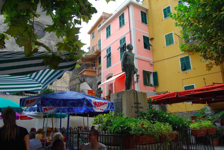 Corniglia Village Life