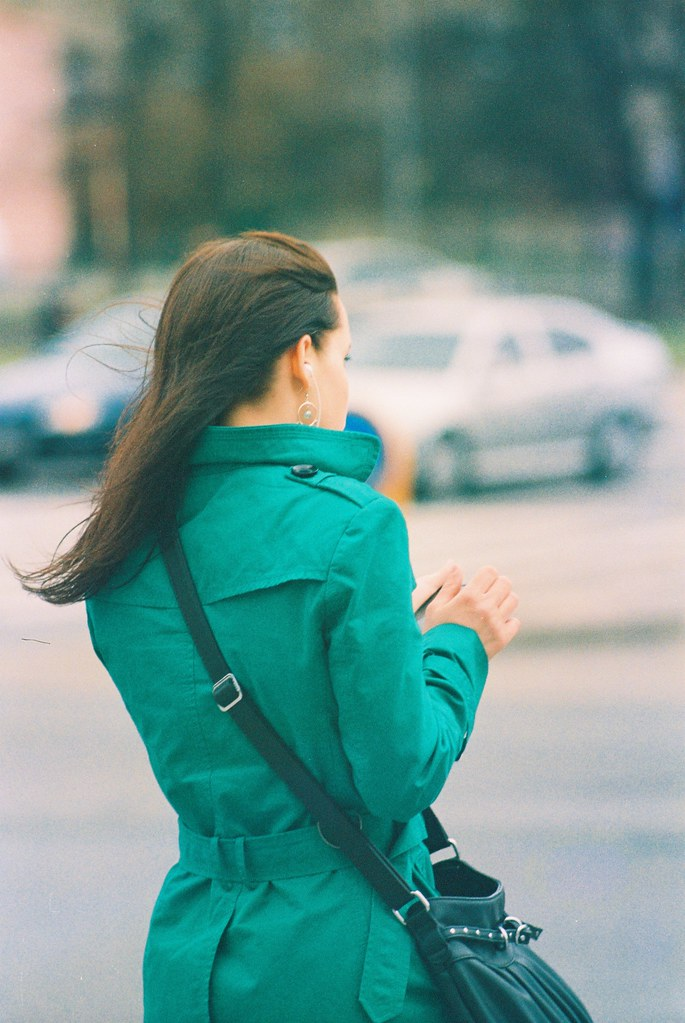 Praktica MTL 5 + Pentacon Electric 4/200 MC - Beauty from Behind