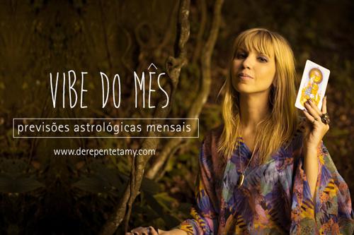 Vibe do mês - previsões astrológicas com Giane Portal