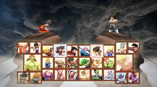 Hyper-Dragonball-Z-Character-Select