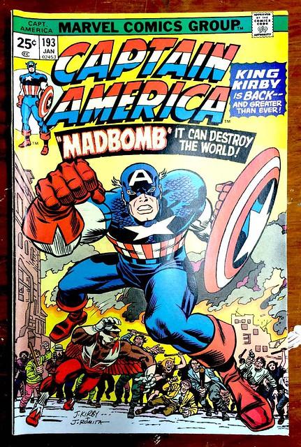 Captain America 193