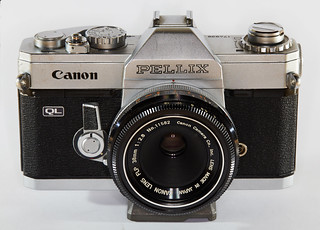 Canon Pellix with FLP 38mm lens