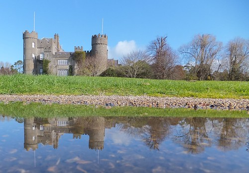 Malahide Castle Reflection