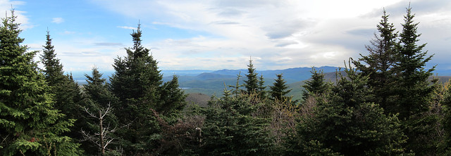 View south from Sugarloaf Mountain