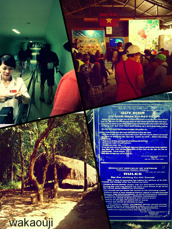 Entrance at Cu Chi Tunnels