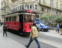 Tram to Taksim Square