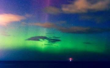 Northern lights. Spotted on way back from work one morning.