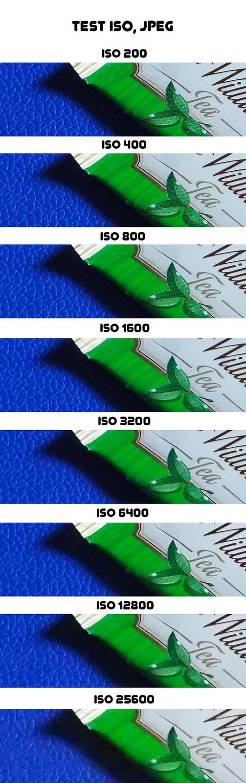 Olympus OM-D E-M10 - test ISO, JPEG