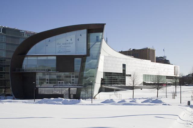 Edificio del Museo de Arte contemporáneo de Helsinki