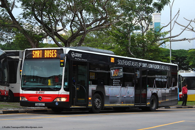 SMB136C: Singapore's first Mercedes-Benz Citaro