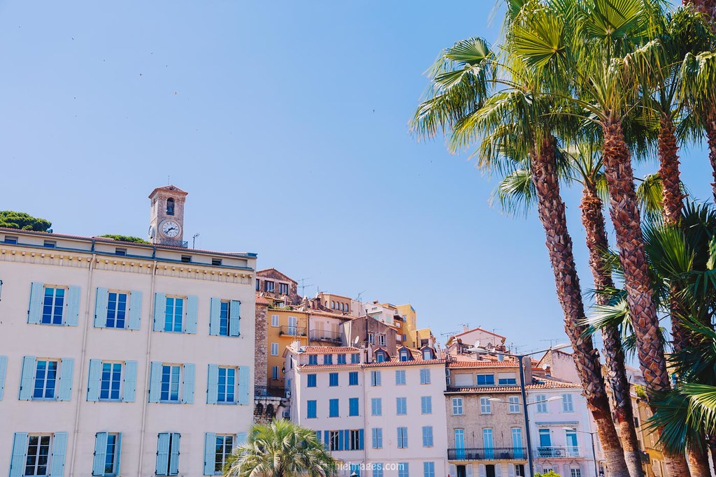 The Suquet, Cannes' old town